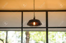 coffee shop lighting. Ceiling Light Or Lamp In A Coffee Shop, Lighting Design Stock Photo -  102588540 Shop E