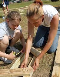 Keesler volunteers assist construction of new playground > Keesler Air  Force Base > Article Display