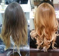 Beste Frisuren Vorher Nachher Haarfarben Trends Coloration