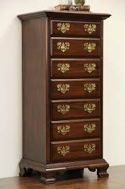 Cherry File Cabinet Sold Harden Signed Cherry Vintage 7 Drawer Lingerie Chest Or