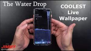 The Water Drop Live Wallpaper - Best ...