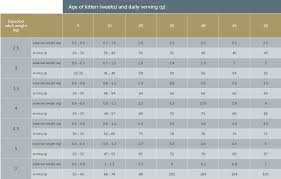 Kitten Growth Chart Weight Average Cat Weight Chart Kitten Growth Chart Weight Average