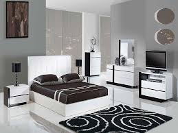 interior design bedroom furniture. Black And White Themed Bedroom Interior Design Furniture