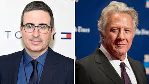 John Oliver Gets Into Heated Argument With Dustin Hoffman Over Sexual  Harassment Claims | Hollywood Reporter