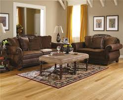 Living Room Sets Ashley Furniture Bradington Truffle Living Room Furniture From Millennium By Ashley