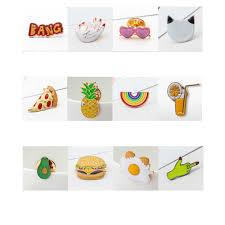 <b>2019 1pc Cartoon</b> Shape Shirt Collar Badge Pin <b>Cartoon</b> Enamel ...