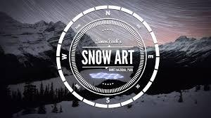 Simon Beck\u0027s Snow Art - Banff National Park - YouTube