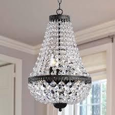 symmetric 6 light antique copper chandelier