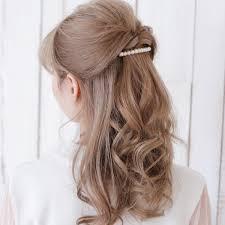 アレンジテクニック伝授使いやすいヘアアクセとは 真珠専門店