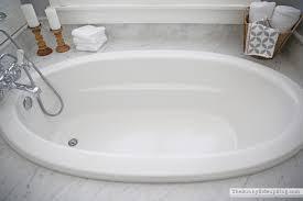 kohler tub faucet in master bath