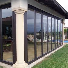 each glass enclosure is custom designed and manufactured for your space and can incorporate a combination of sash windows sliding windows folding doors