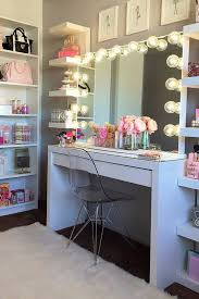 Makeup Table Best 25 Ikea Makeup Vanity Ideas On Pinterest Vanity Makeup