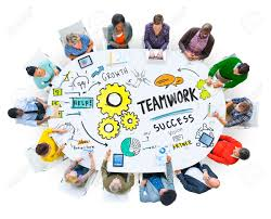 working as a team teamwork team together collaboration meeting working office concept