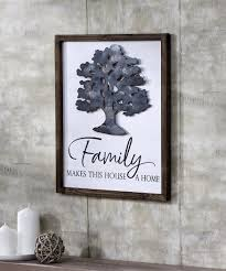 Large family tree wall decal diy black photo frame tree wall decor sticker mural decal art décor for living room home decor (black tree) 3.9 out of 5 stars 632 $12.96 $ 12. Metaltreewalldeacutecor Giftcraft
