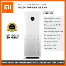 BẢN QUỐC TẾ] Máy lọc không khí Xiaomi Mi Air Purifier Pro - BẢO HÀNH 12  THÁNG CHÍNH HÃNG