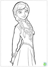 Small Picture Disneys Frozen Characters Coloring Pages Coloring page Fun