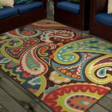 multicolor area rugs orian rugs bright colors paisley monteray area rug or runner com
