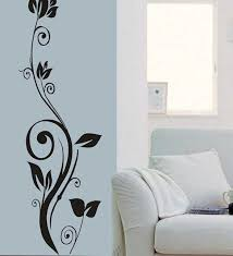 flower wall painting design paintings art simple 2018 also enchanting attractive paint designs decor fea pictures