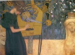 page artist gustav klimt completion date 1895 style art nouveau modern period early works genre allegorical painting technique oil material