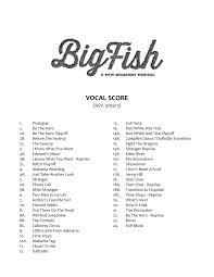 time stops big fish sheet music big fish conductors score pdf docdroid