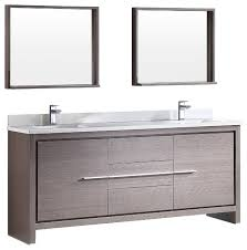 72 inch vanity double sink. the most fresca allier 72 modern double sink bathroom vanity with mirror pertaining to inch plan 2