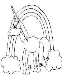 Coloring Picture Of A Unicorn Gratis Kleurplaat Van Een Eenhoorn