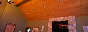 ozark natural paneling plank ceiling