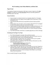 Cover Letter Mla Citation For Essays Mla Format For Essays Quotes