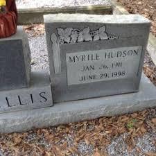 Myrtle Hudson Willis (1911-1998) - Find A Grave Memorial