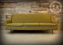 office settee. Vintage Industrial Mid Century Modern Green Couch Office Settee Sofa Waiting Room Seating R