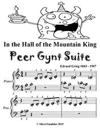 The letter notes sheets posted on this blog are aimed at beginner musicians, most of them are simplified versions of. In The Hall Of The Mountain King Peer Gynt Suite Beginner Piano Sheet Music Tadpole Edition Kindle Edition By Grieg Edvard Silvertonalities Arts Photography Kindle Ebooks Amazon Com