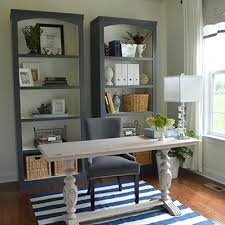 home office makeover pinterest. Brilliant Office Bookcase Diy Bookshelves In A Home Office Makeover Pinterest  Bookchase Check Out The This
