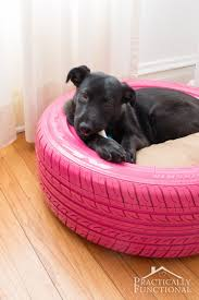 DIY Dog Bed From A Recycled Tire!