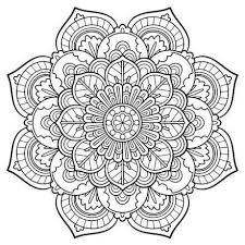 Mandala Coloring Pages For Kids Free Printable Halloween Archives