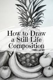 learn how to draw a still life position from start to finish