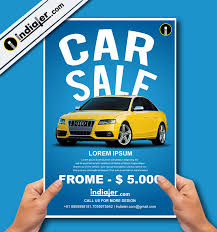 Free Car For Sale Poster Ai Template Indiater
