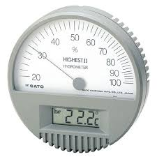 hair hygrometer. click to enlarge hair hygrometer