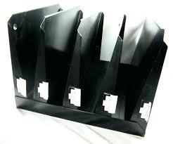 metal file folders image 0 wall mounted folder holder