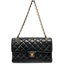 Chanel Black Quilted Lambskin Classic Double-sided Flap Coco ... & Chanel Black Quilted Lambskin Classic Double-sided Flap Coco Bag Adamdwight.com