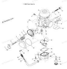 polaris atv 2005 oem parts diagram for carburetor ab ac partzilla polaris sportsman 400 carburetor problems 2005 polaris sportsman carb diagram