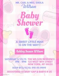 baby shower invitations for girls templates customizable design templates for baby shower invitation postermywall