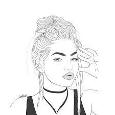 Disegni Di Ragazze Tumblr Facili Da Disegnare Img