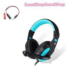 Tai nghe game thủ sành điệu 770 kèm dây cáp chuyển âm thanh ra điện thoại  tiện lợi dùng tốt cho cả điện thoại và pc - Tai nghe có dây chụp