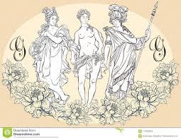 греческие боги мифологические герои древней греции нарисованное
