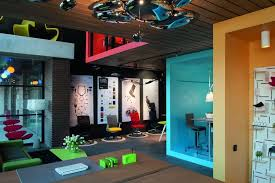 funky style furniture. Formal Factory Turned Into A Colorful Office And Showroom Funky Style Furniture