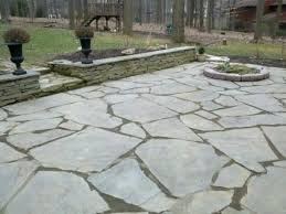 natural stone patio pictures