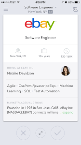 job matching app switch now includes tech and media jobs the one of the best things about the app is its search functionality which throws back a large number of personalized results it does this by using a company