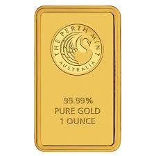 Perth Mint 1oz Gold Minted Bar - Gold Buyer Sharma
