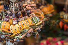 fruit christmas decorations. Plain Fruit Christmas Decorations Made With Dried Fruits Garland Chaplet To Decorate  Christmas Tree Homemade Sold During Market In Fruit Decorations R