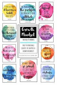 Growth Mindset Quotes Gorgeous Growth Mindset Quotes For Kids Parents The Kitchen Table Classroom
